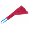training leather teasing tug with 1 handle