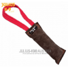 Sewn Outside  Tug Leather 3.94 x 0.98 in / 10 x 2,5 cm with 1 Handle