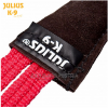 sewn outside tug leather