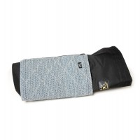 Polyester cover with handle and cotton bite pad for young sleeve