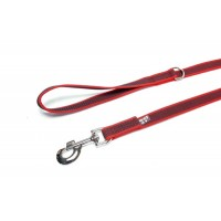 Red K9 Super Grip Narrow (14mm) 2 m - With Handle