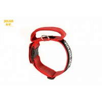 Dog Safety Collar with Handle - Red - Large (50mm)