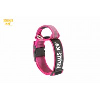 Dog Safety Collar with Handle - Pink - Small (40mm)