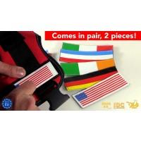 Flag Labels for Dog Harnesses - SMALL