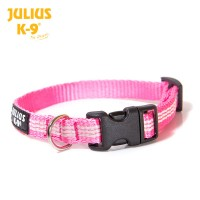 IDC Reflective Dog Collar - Pink
