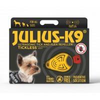 Ultrasonic Tick & Flea Repellent Collar Attachment (Yellow)