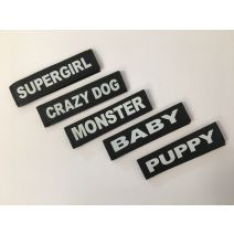 Extra Small Badges (for harness size baby 1)