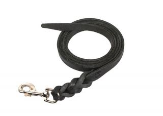 Braided Leather Dog Lead - No Handle - 1 m
