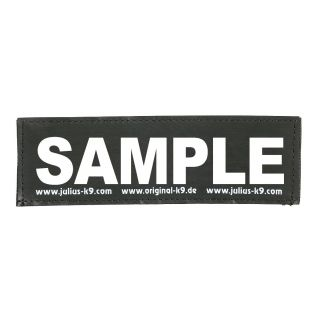 PERSONALISED WHITE TEXT LABELS *SINGLE* LABELS