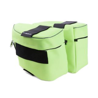 Side bags for IDC® Powerharness - Neon Green - Size 1-2