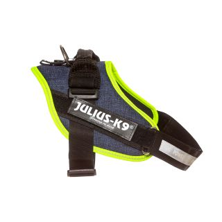 IDC Powerharness - Size 0 - Denim (Neon Trim)