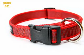 Color & Gray Collar - Red - 25 mm
