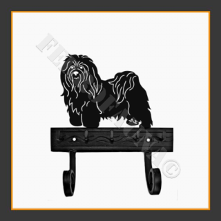 Bichon Havanese Key and Lead Holder