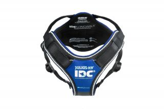 IDC®Longwalk Dog Hiking Harness - Size Medium - Blue