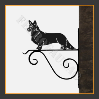 Corgi Hanging Basket Bracket