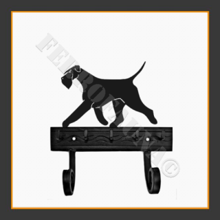 Giant Schnauzer Key and Lead Holder