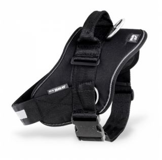 black IDC Powerharness with side rings
