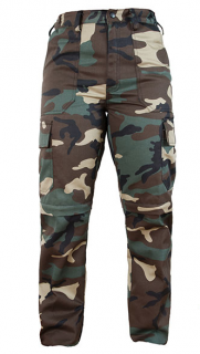 K9 Zip-Off trousers Military