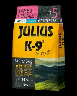 JULIUS-K9® Utility Dog Food for Adult Dogs - Lamb & Herb