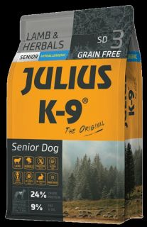 JULIUS-K9® Dog Food for Senior Dogs - Lamb & Herb