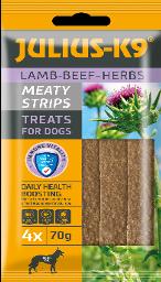 JULIUS K-9 Meaty Snacks 70g - with Herbs