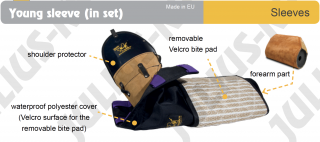 Training Sleeve Set - Left Arm