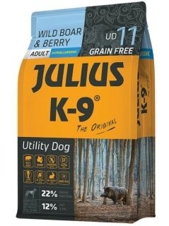 JULIUS-K9® Utility Dog For Adult Dogs - Wild Boar & Berry