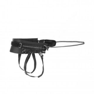 black jogging belt for dog lead attachment