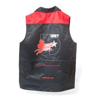 Waterproof Dog Walking Vest Jacket Red-XS