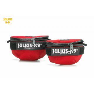 IDC Universal Saddle Bag - Size Mini to 4 - Red