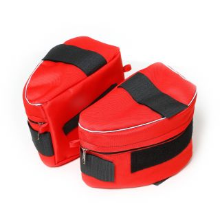 Side bags for IDC® Powerharness - Red - Size 1-2
