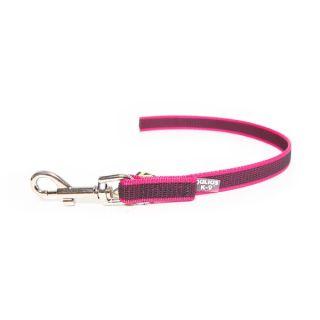 Colour & Gray® Super Grip Leash - Pink - 0.45m - No Handle