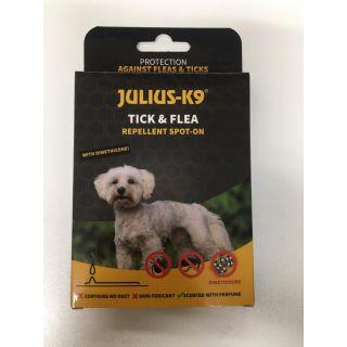 Spot-On Tick & Flea Repellent Dog Treatment