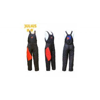 Protective Scratch pants with USA K-9 Unit brand, Black, Size: 52