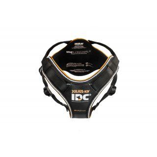 black IDC Longwalk Dog Harness