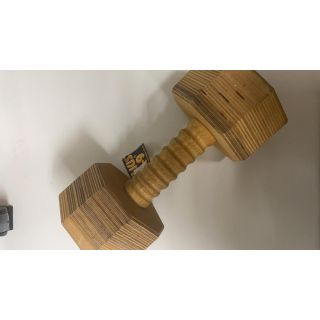 Dumbbells, Laminated 1000 g dismantle-able
