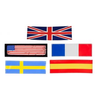 collection of the flag labels available