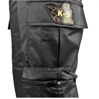 Scratch Resistant Zip-Off Trousers - Black