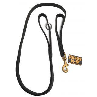 black police standard dog leash