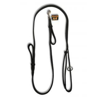 black wrist strap dog leash