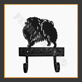 Pomeranian Dog Key and Lead Holder
