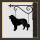 Bernese Mountain Dog Hanging House Sign