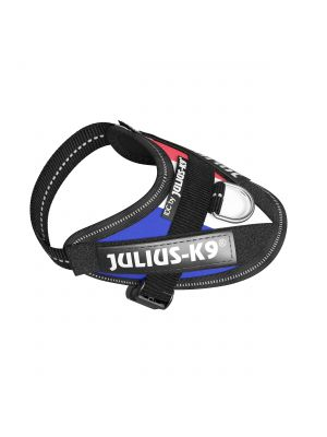French Flag Dog Harness - Small Puppy (baby 1)