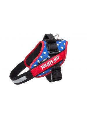 American Flag Dog Harness - Small Dog (size 0)
