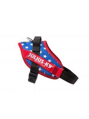 American Flag Dog Harness - Extra Extra Small Dog (mini-mini)