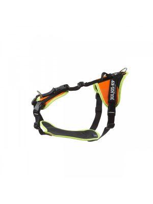 Mantrailing Dog Harness - UV Organge - Medium