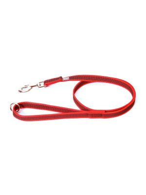 Red K9 Super Grip Narrow (14mm) 1.2 m With Handle & O Ring