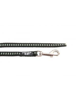 IDC Synthetic Tubular Webbing Narrow Dog Lead - 2 m - Black - No Handle