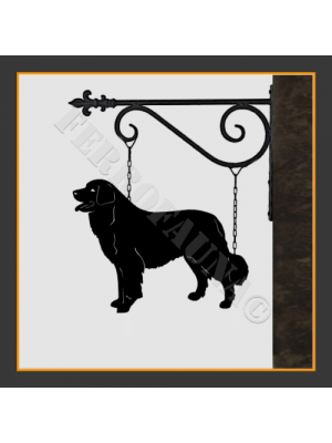 Bernese Mountain Dog Hanging House Sign