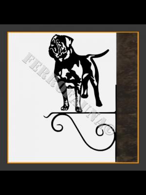 Dogue de Bordeaux Hanging Basket Bracket
